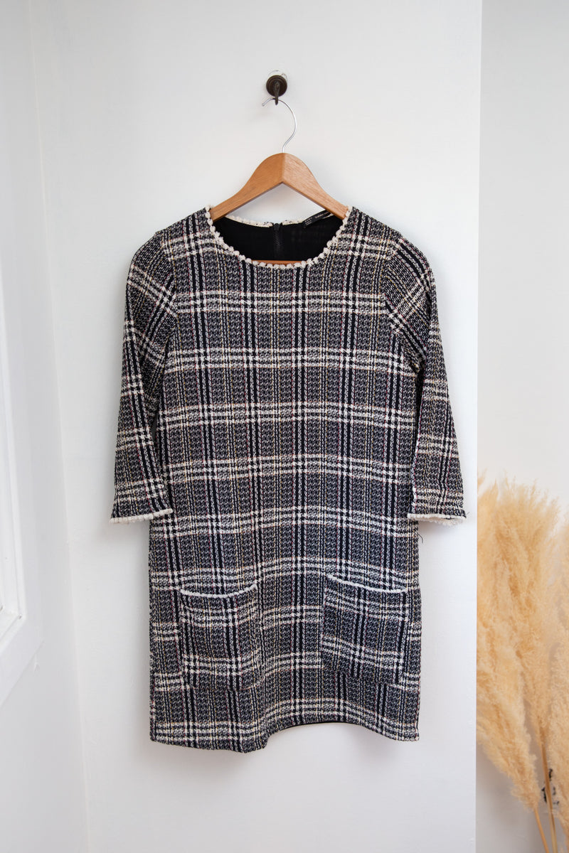 Zara Tweed Dress - XS
