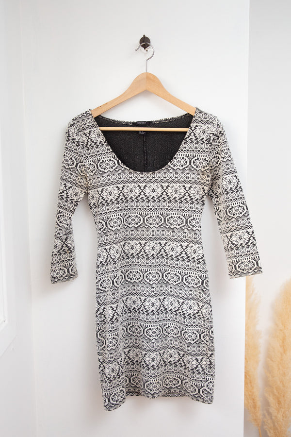 Forever 21 Bodycon Knit Dress - M