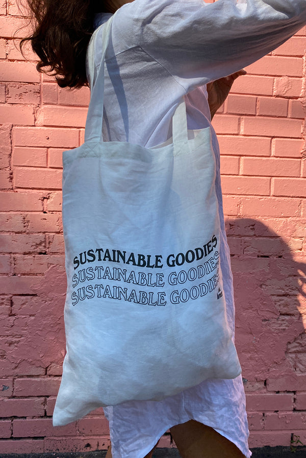 'Sustainable Goodies' Tote Bag