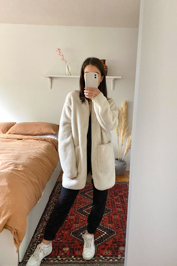 Wilfred Free Sherpa Coat - XXS