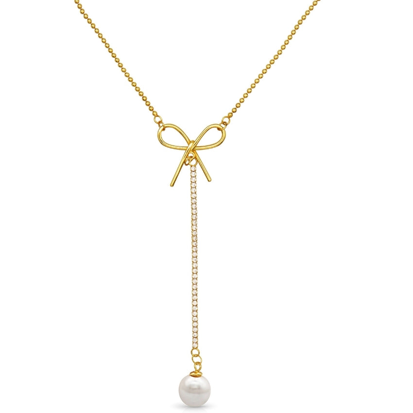 Cailie Bowknot Necklace - Beautiique