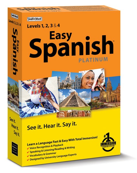 Spanish - See It, Hear It, Say It Book With Cd (BOX)