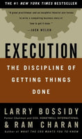 Execution - Discipline Of Getting Things Done