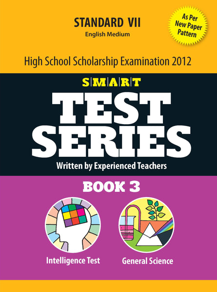 SMART Test Series - High School Scholarship (Intelligence Test & General Science)_7th