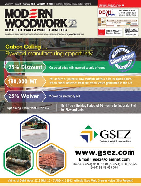 Modern Woodwork India - Domestic Subscription