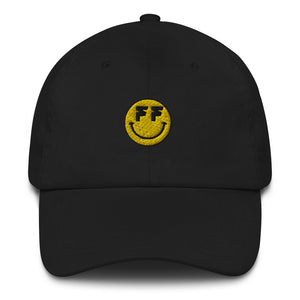 Open image in slideshow, Fatum Smiley Dad Hat (White or Black)