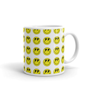 Open image in slideshow, Fatum Smiley Army Coffee Cup