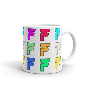 Open image in slideshow, Fatum Colorful F Coffee Cup