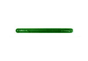 "Tote Cart/United 13 3/4"" long green plastic shopping cart handle"