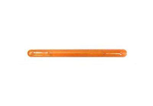 "Tote Cart/United 13 3/4"" long orange plastic shopping cart handle"