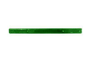 "Tote Cart/United 16"" long green plastic shopping cart handle"