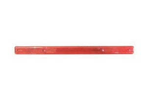 "Tote Cart/United 16"" long red plastic shopping cart handle"