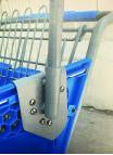 Anti-Theft Bracket & Pole Assembly for Plastic Carts (Pole and Bracket)