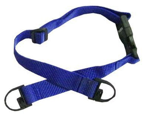 Blue Child Seat Belt Straps For Shopping Carts