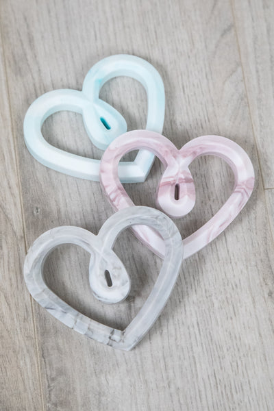 Latched Mama Heart Teether