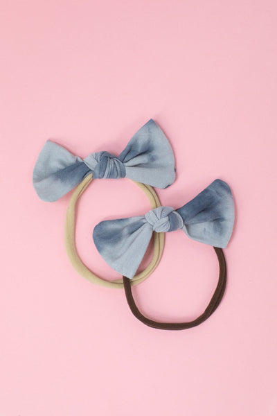 Latched Mama Mini Bow Tie Headband