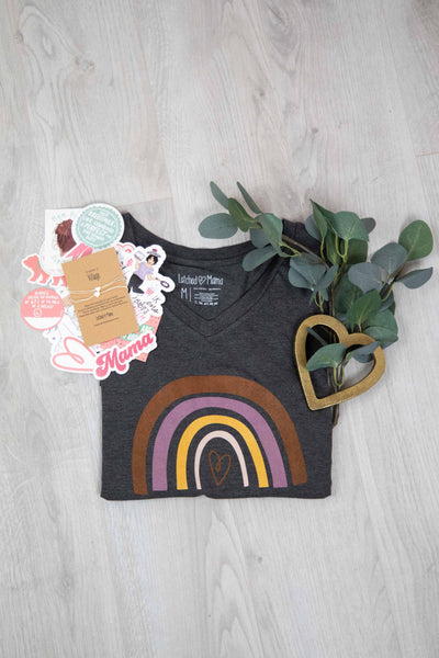 Latched Mama Rainbow Tee Bundle