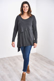 Latched Mama Asymmetrical Nursing Tunic