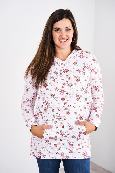 Latched Mama Lightweight Holiday Nursing Hoodie