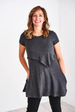 Latched Mama Peekaboo Back Nursing Tunic - Last Chance