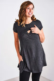 Latched Mama Peekaboo Back Nursing Tunic