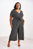 Latched Mama V-Neck Nursing Jumpsuit - Last Chance