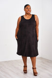 Latched Mama Midi Nursing Tank Dress