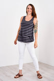 Latched Mama Boyfriend Nursing Swing Tank