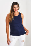 Latched Mama Ribbed Nursing Tank