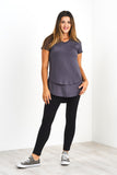 Latched Mama V-Neck Nursing Tee 2.0