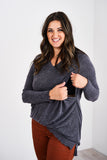 Latched Mama Relaxed Sweater Nursing Tunic