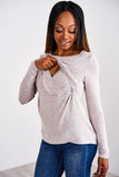 Latched Mama Everyday Nursing Sweater