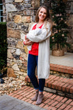 Latched Mama Long Sleeve Holiday Nursing Tee - Last Chance