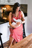 Latched Mama Holiday Nursing Romper- Last Chance