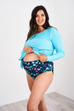 Latched Mama Mix & Match High Waisted Swim Bottoms