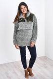 The Latched Mama Sherpa Nursing Pullover - Last Chance