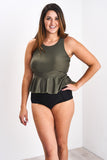 The Latched Mama High-Waisted Swim Bottoms- Last Chance