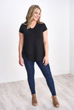 V-Neck Boyfriend Nursing Tee