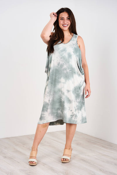 Latched Mama Cropped Cocoon Nursing Dress