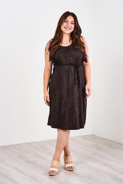 Latched Mama Midi Nursing Tank Dress- Last Chance