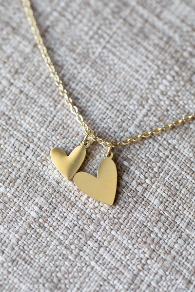 Latched Mama Double Love Necklace