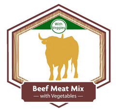 Golden Acres Beef Meat Mix with Vegetables