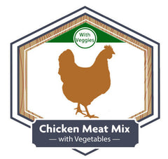 Golden Acres Chicken Meat Mix with Vegetables