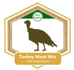 Golden Acres Turkey Meat Mix with Vegetables