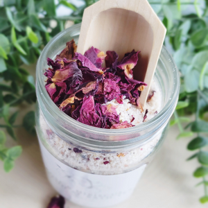 Rose and Hibiscus Botanical Bath Tea