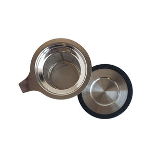 Stainless Steel Mesh Infuser + Lid