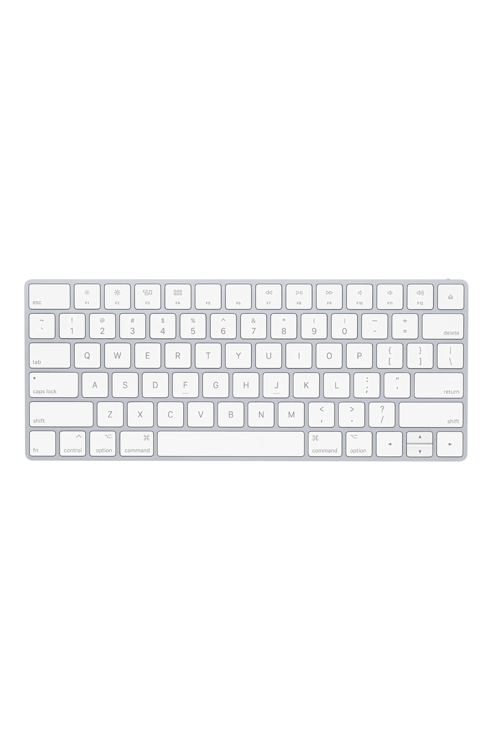 Apple Magic Keyboard | US English | Silver - QuickPantry