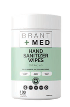 Load image into Gallery viewer, Brant+Med™ Wipes - 70% Alcohol ($0.0625/pc+)