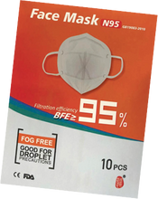 Load image into Gallery viewer, N95 Face Masks - FDA, CE ($4.45/pc+)