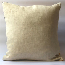 Load image into Gallery viewer, Back of cushion, plain neutral